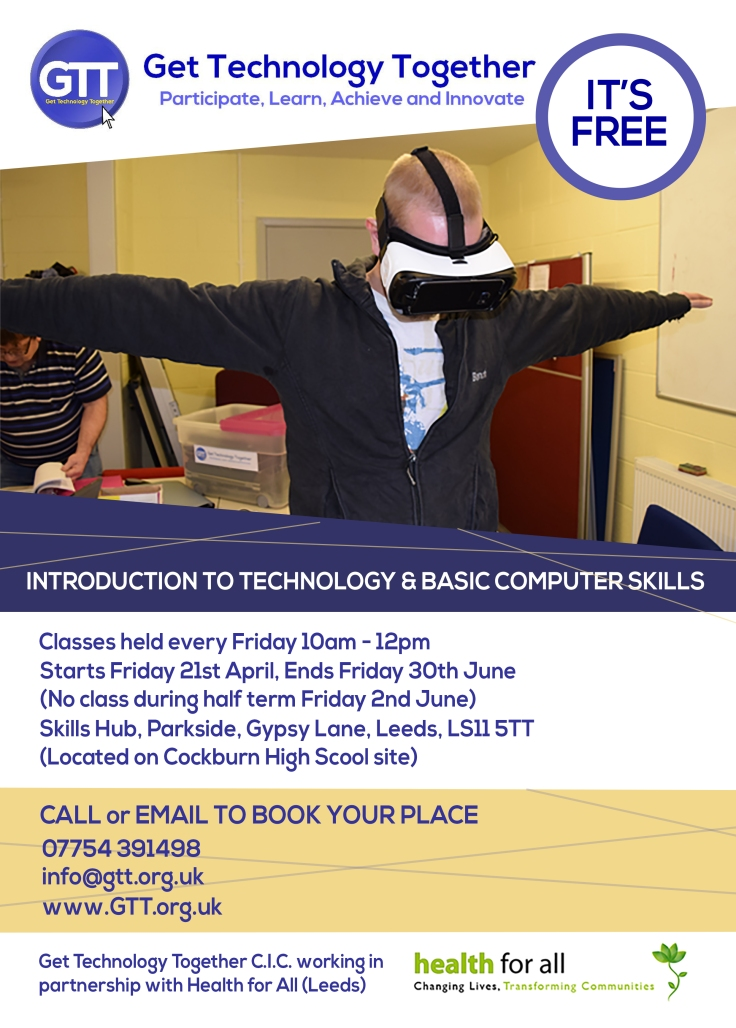 GTT Introduction to Technology Course Leaflet